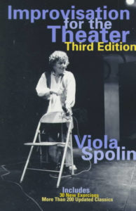 Portada Improvisation fo the theater Viola Spolin
