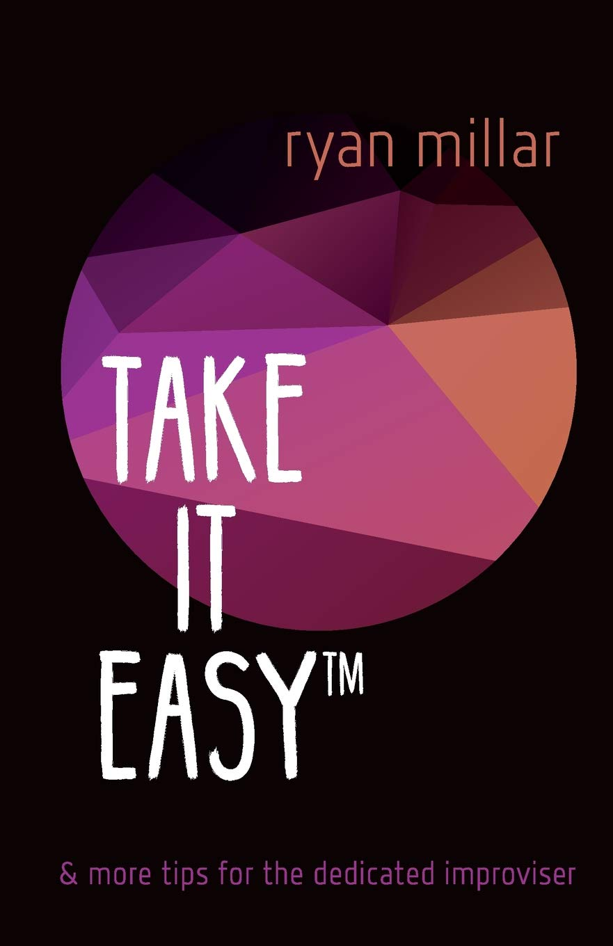"portada Ryan Millar ""Take it easy"""