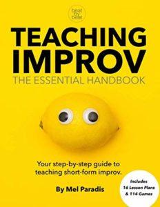 Portada libro Teaching Improv Essential Handbook (Mel Paradis)