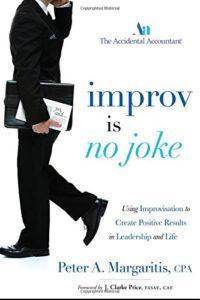 Improv is no joke (Peter A. Margaritis)